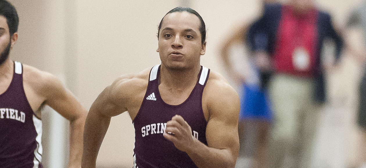 Men's Track and Field Competes In Massasoit Classic