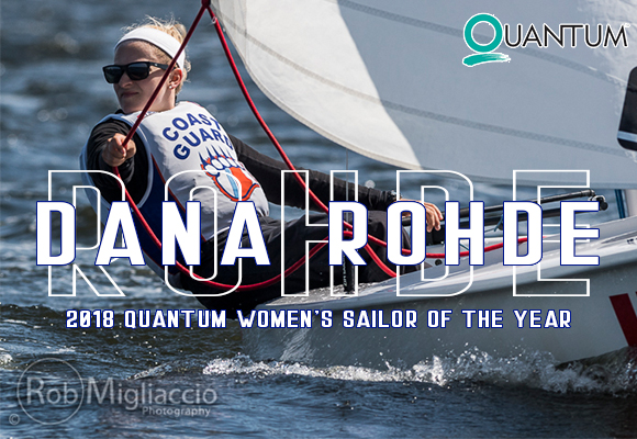 Dana Rohde Named Quantum Women's Sailor of the Year