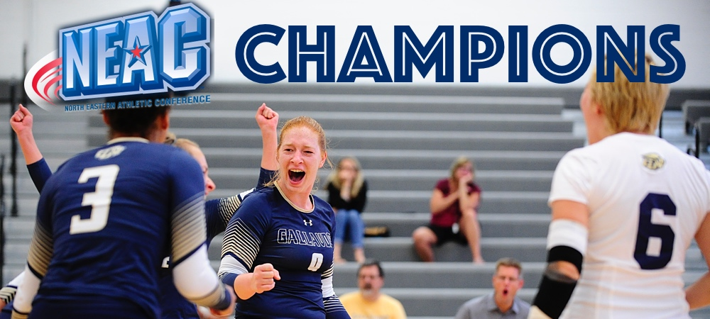 Gallaudet successfully defends NEAC women's volleyball crown for seventh year in a row