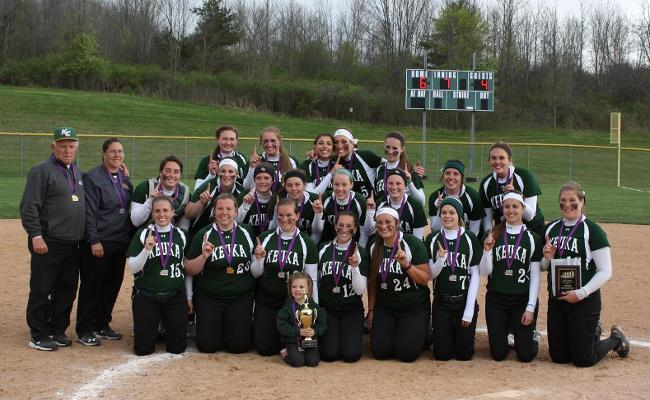 Keuka College Softball Wins NEAC Championship