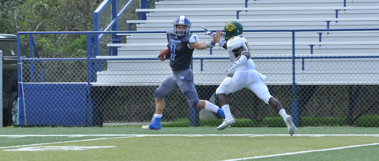 Football Falls on the Road at Conference Foe Huntingdon
