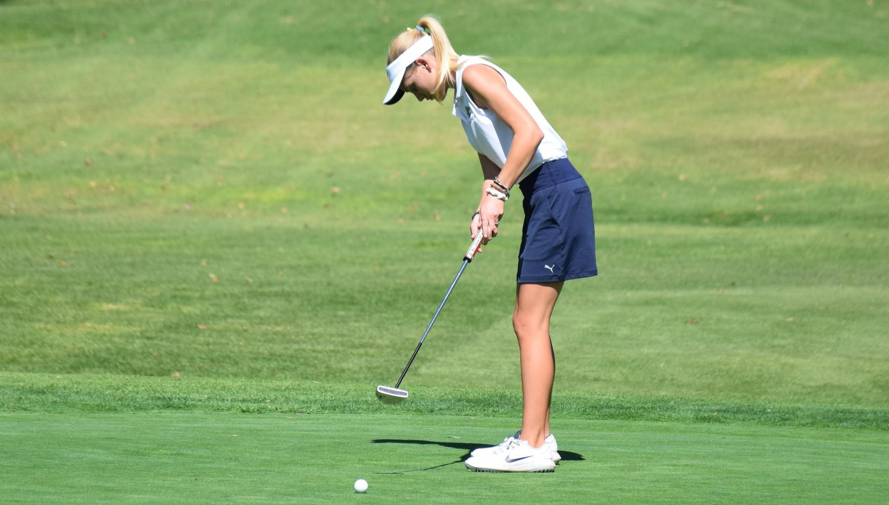 Golfer Katie Stribling finishes second in conference scoring