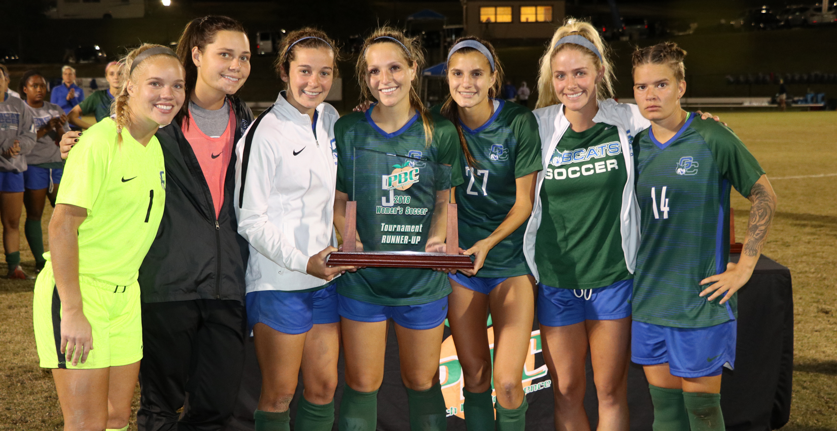 Bobcat Seniors with PBC Runner-Up trophy