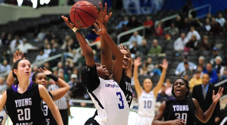 LaRice Walker gave the Bobcats a 49-47 lead late in regulation play.
