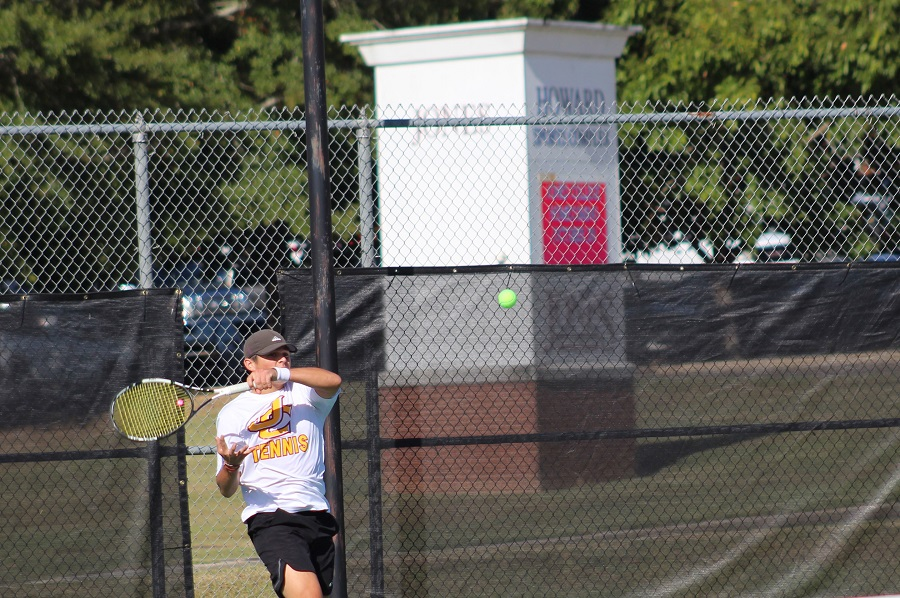 Jones Bobcat tennis teams open season with wins at East Central