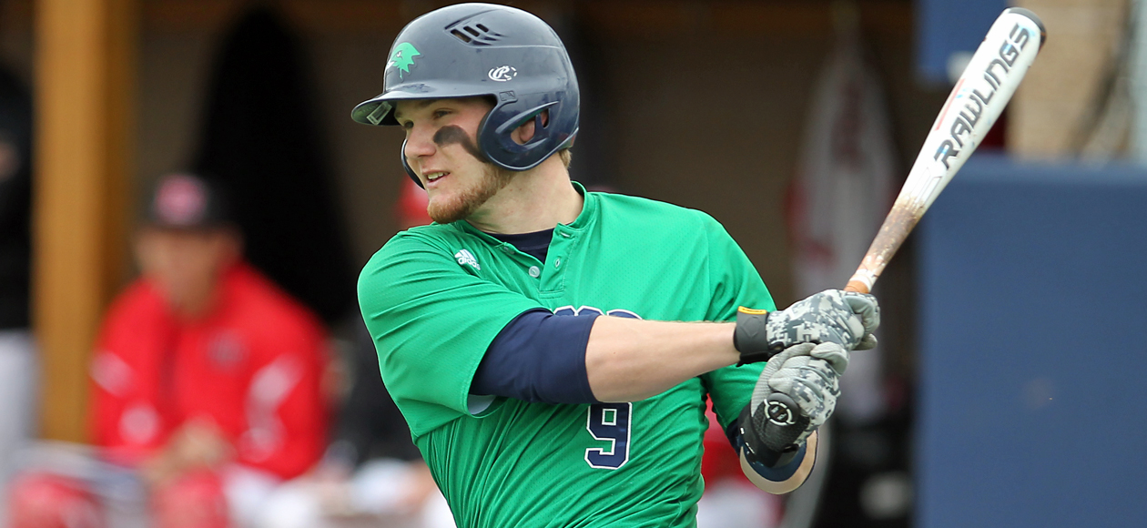Cahill Delivers Walk-Off Game One Win; Endicott Splits with Curry