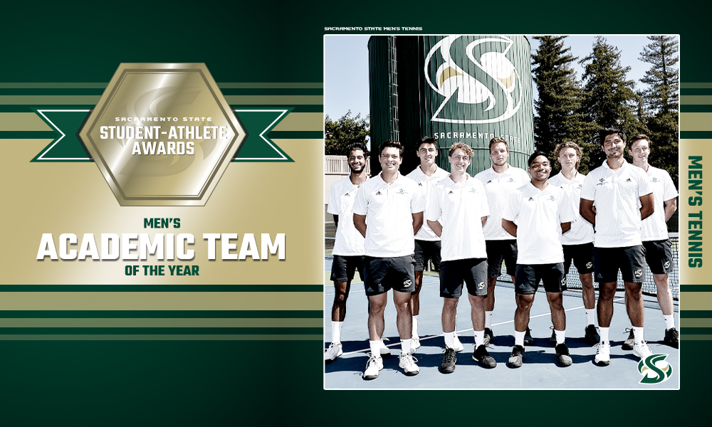 MEN'S TENNIS NAMED SACRAMENTO STATE'S MEN'S ACADEMIC TEAM OF THE YEAR