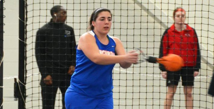Women's Track & Field takes part in Eagle Invitational