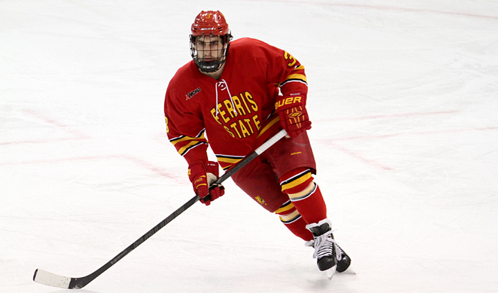 #2 Ferris State Hockey Drops First-Ever WCHA Contest In Series' Opener