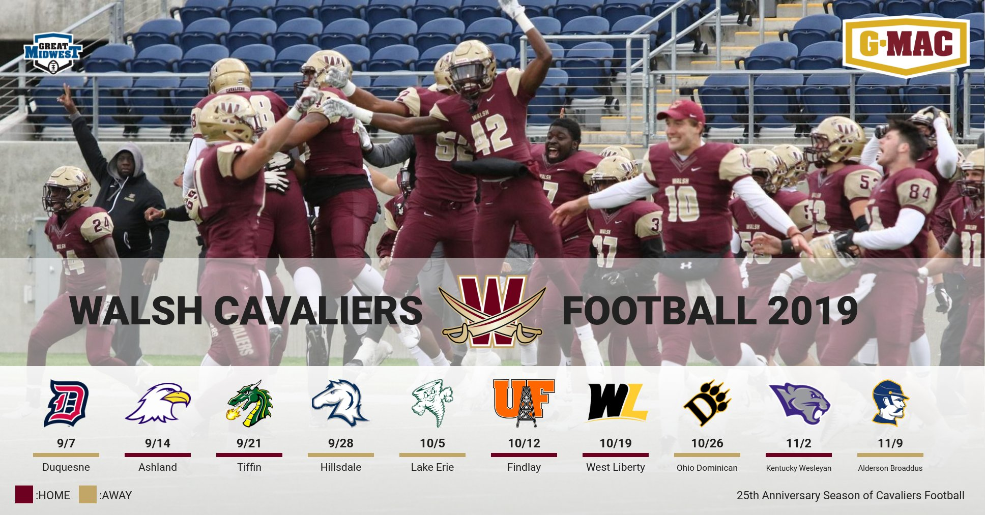 Football Releases 2019 Schedule