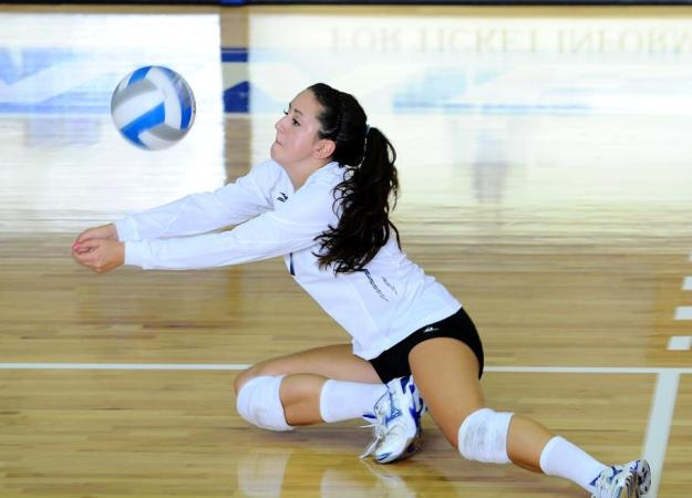 Volleyball Sweeps FDU, 25-23, 25-12, 25-16