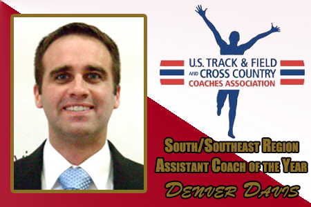 Davis Named Region's Assistant Coach Of The Year