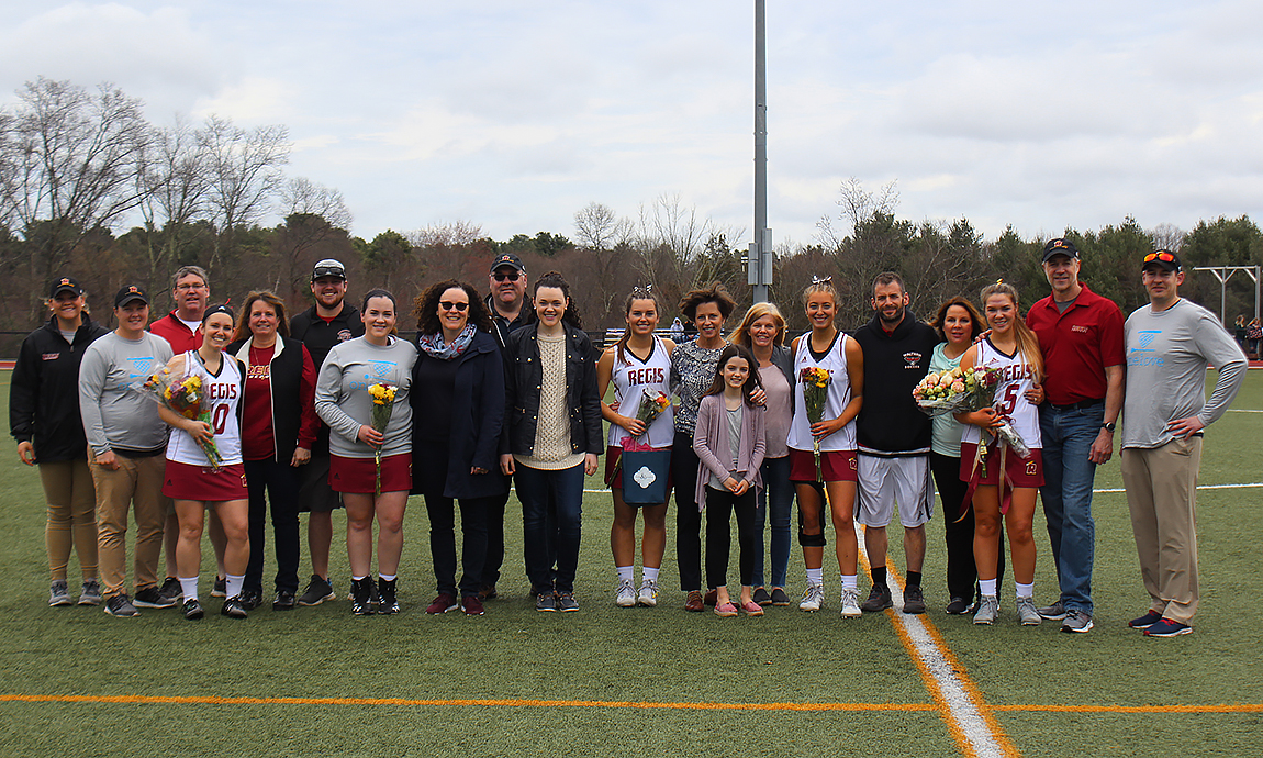 Regis Women's Lacrosse Continues Winning Ways on Senior Day