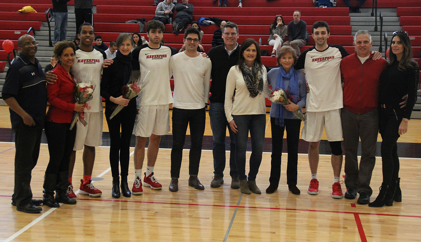 Men's Basketball Celebrates Senior Day with 82-70 Win over Dickinson