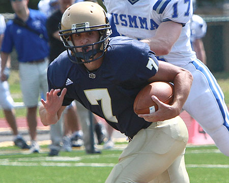 Last second touchdown spoils season opener for Gallaudet