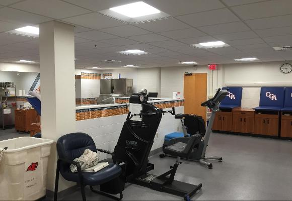 Training Room Renovations Come to a Close