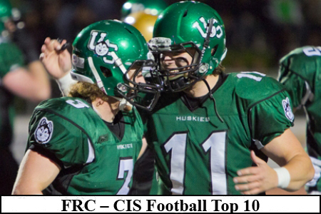 FRC – CIS Football Top 10 (#8): Huskies beat Calgary again, up to No. 4