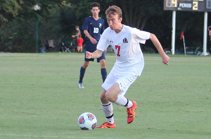 Men's Soccer: Panthers' second half rally comes up short at Piedmont