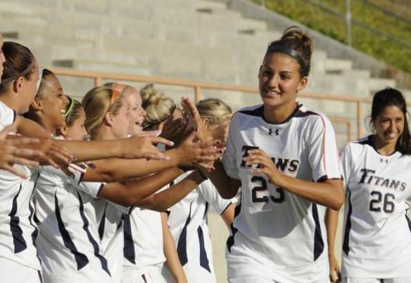 Offensive Outburst Lifts Titans Past Army, 3-0