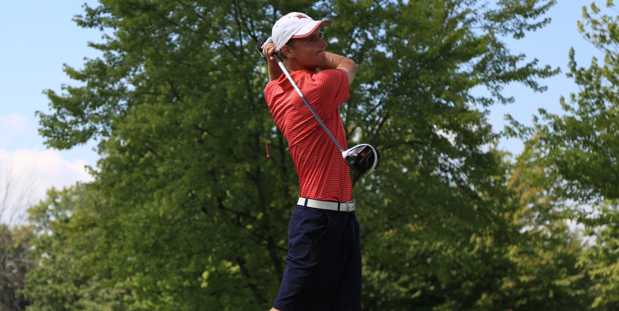 Men's Golf finishes fourth at NMU Invitational