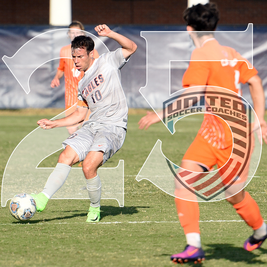 Eagles break into United Soccer Coaches' poll at No. 25