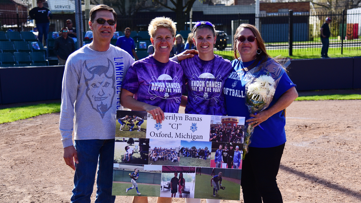 Lawrence Tech Sweeps Lourdes on Senior Day