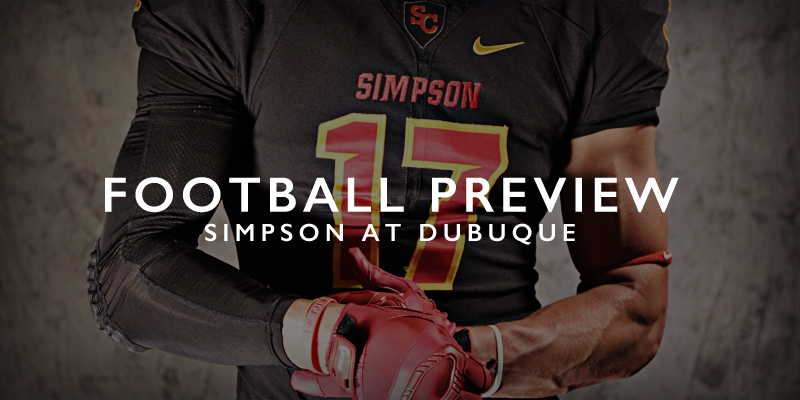 FB PREVIEW: Simpson at Dubuque