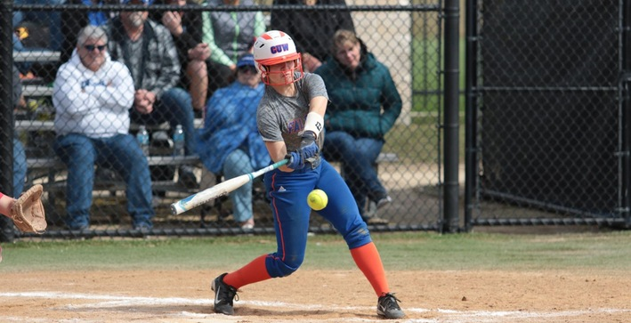 Softball settles for split in NACC twinbill at Wisconsin Lutheran