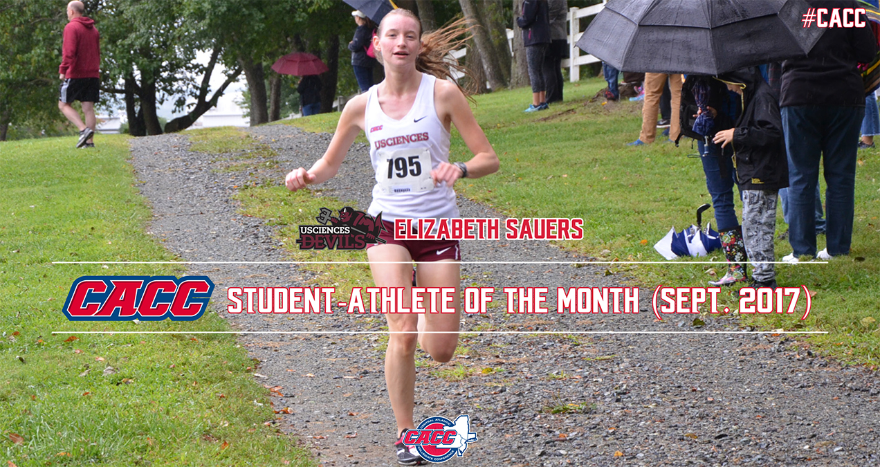 USciences' Elizabeth Sauers Named CACC Student-Athlete of the Month for September