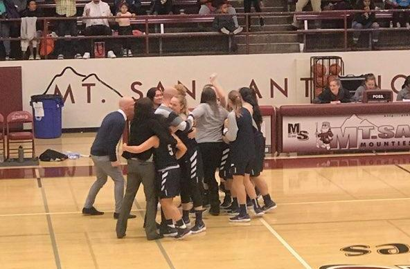 Women's basketball team upsets Mt. SAC, headed to state