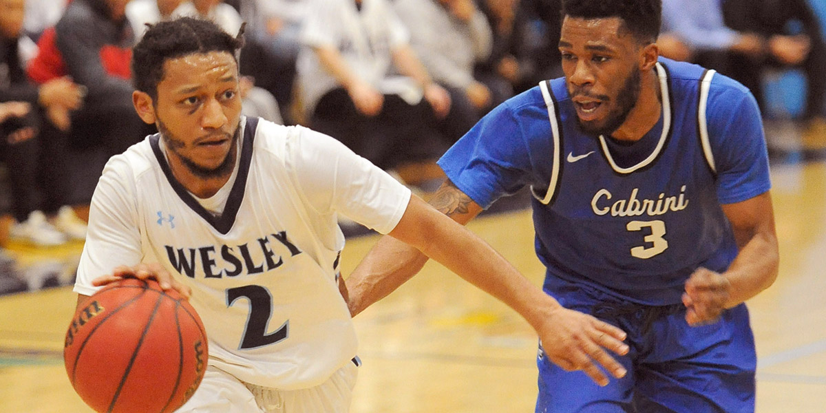 Second-half surge advances men's basketball to Atlantic East semifinals over Cabrini