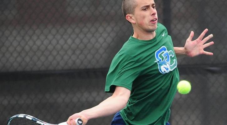 Freshman Pedro Ecenarro picked up two of the team's three victories.