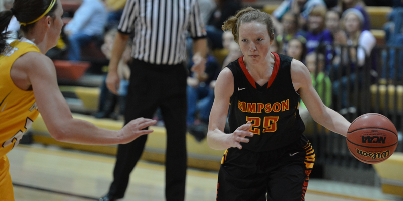 Kaale leads Simpson to win over Macalester