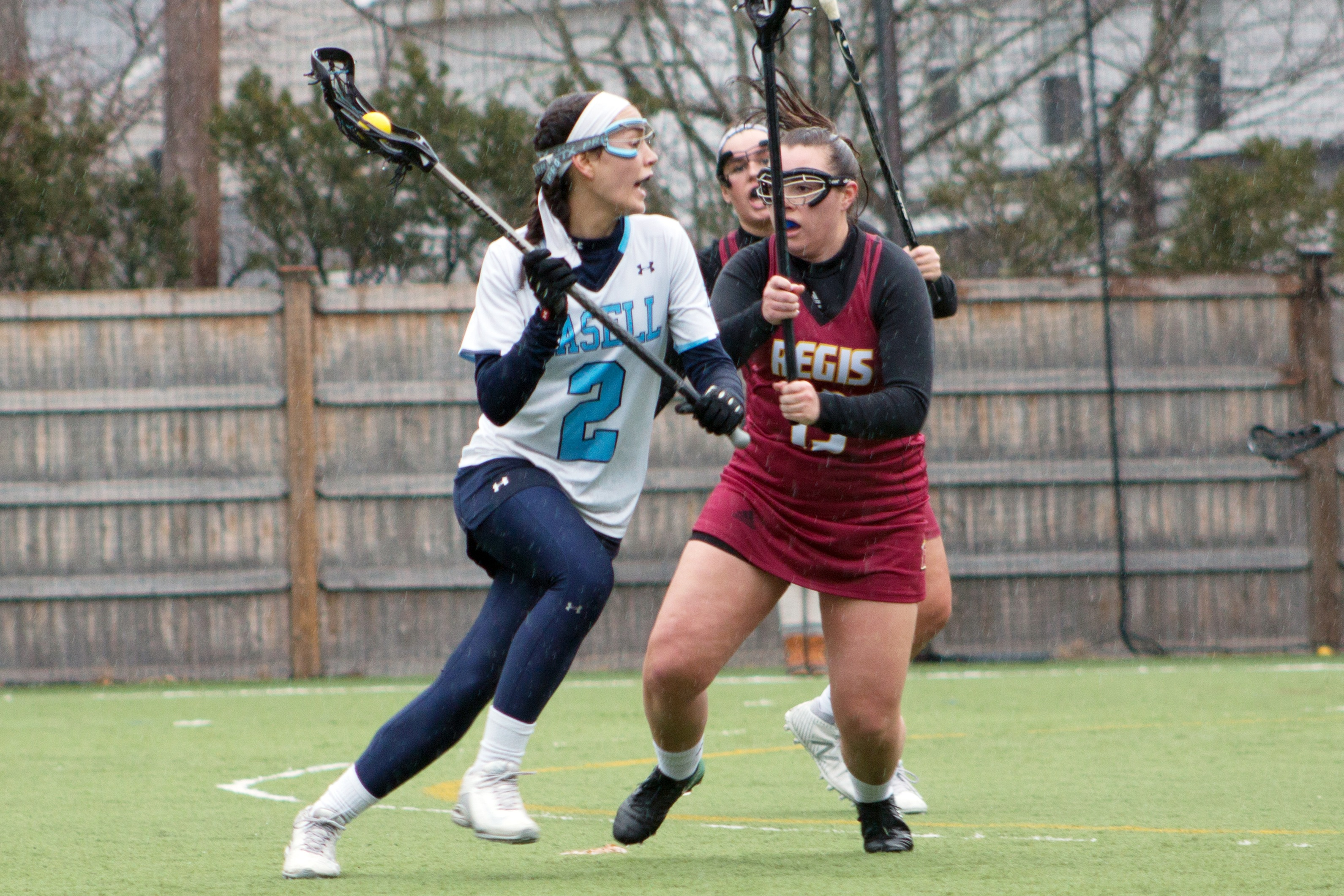 Lasell Women's Lacrosse too strong for Saint Joseph (Conn.)
