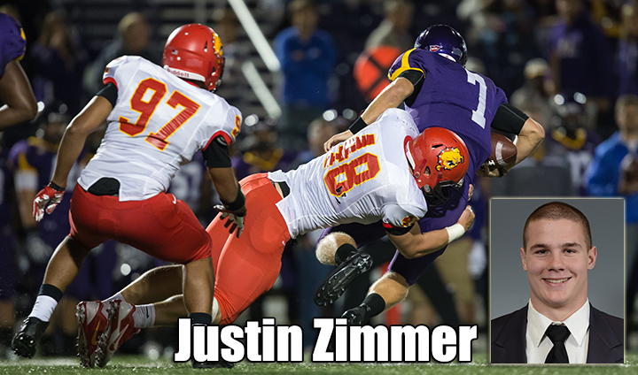 FSU's Justin Zimmer Picks Up Two More National Player Of The Week Awards