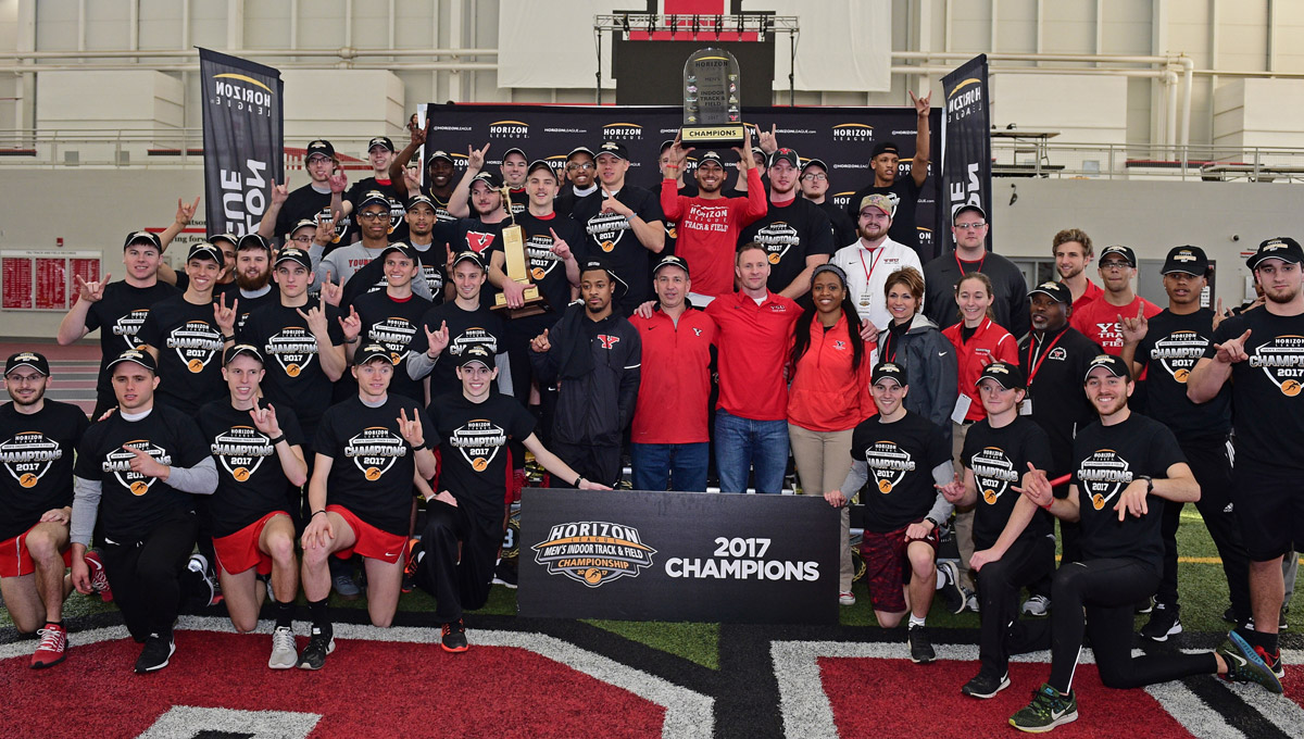 Men Have Dominant Effort Claiming Second Straight Indoor Track & Field Championship