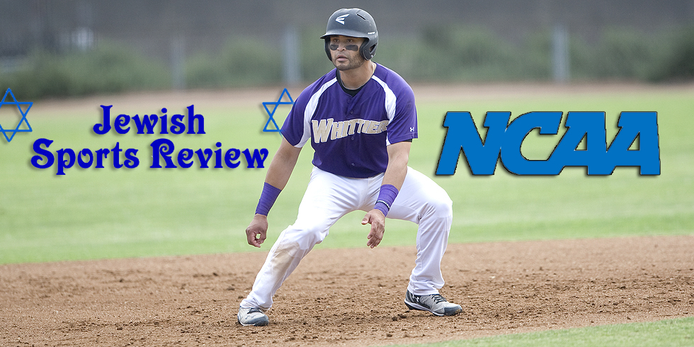 Julian Barzilli recognized by the NCAA and Jewish Sports Review