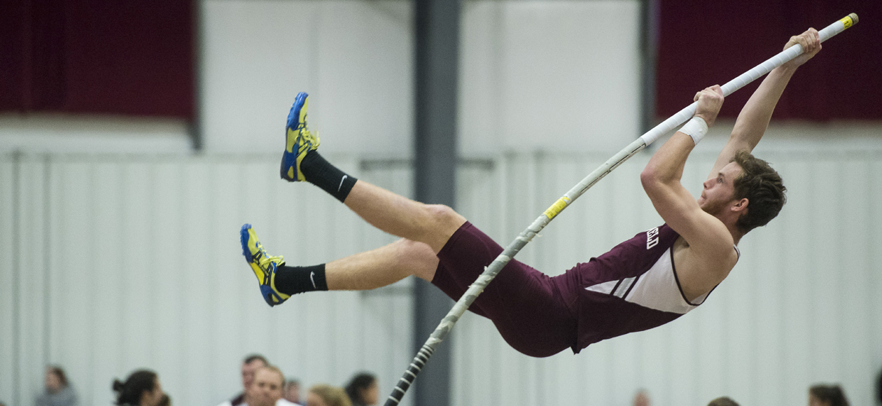 "Deckel Smashes School Record in Pole Vault; Men's Track and Field Hosts ""Maroon and White"" Classic"
