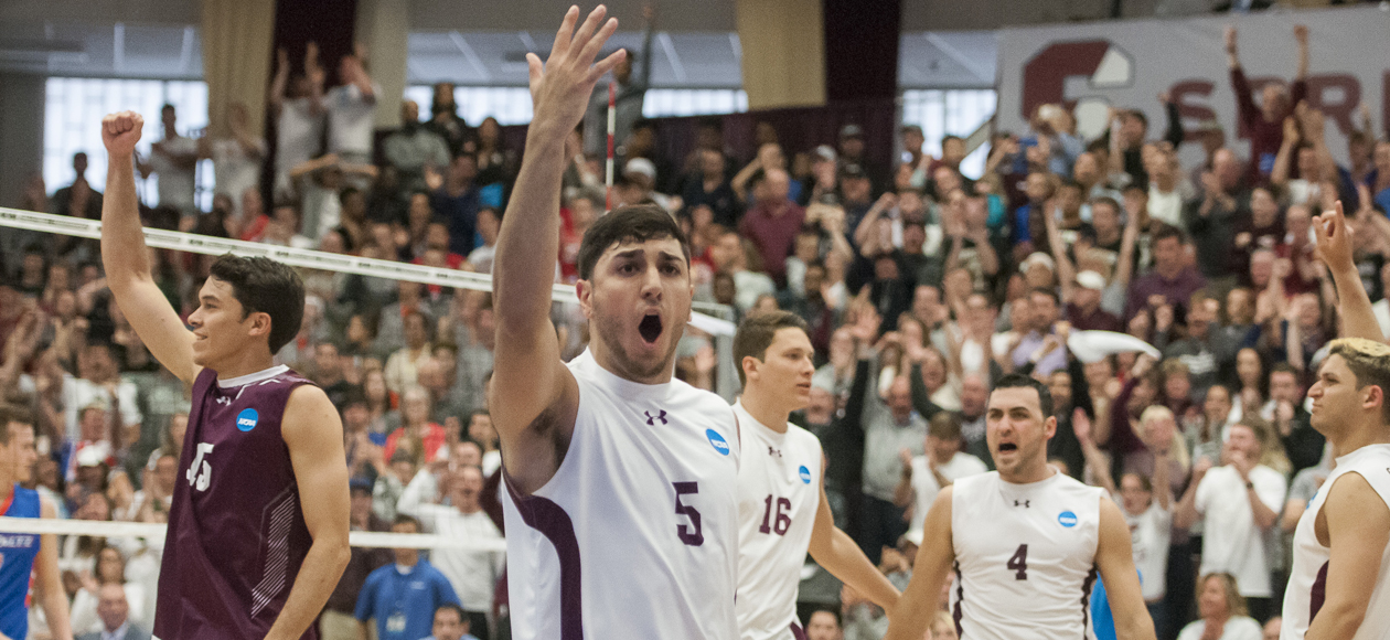 Men's Volleyball Wins NCAA Division III Hitting Percentage Title For Sixth-Consecutive Season