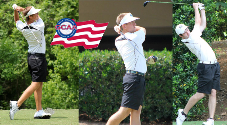#11 GC Golf's Garrett, Smith, Trocchio Named All-American