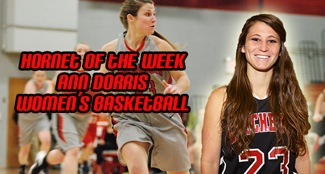 Q and A with Hornet of the Week Ann Dorris