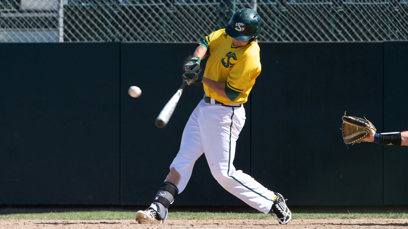 BASEBALL EVENS SERIES AT GRAND CANYON WITH 5-4 WIN IN 10 INNINGS