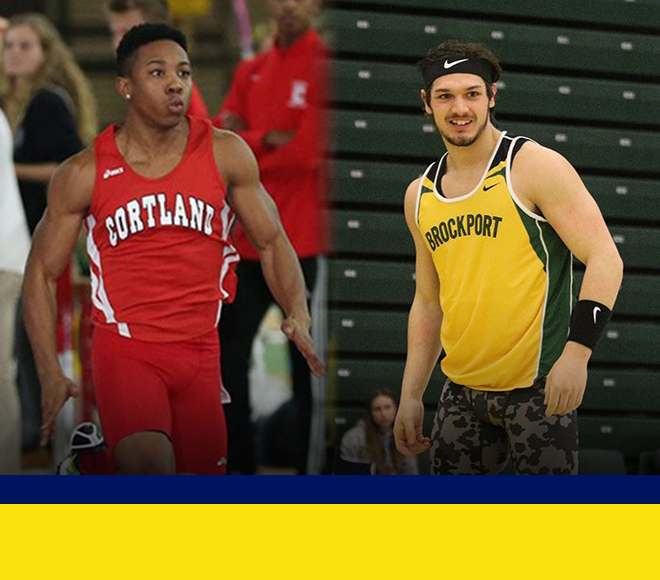 SUNYAC Releases Men's Indoor Track and Field Athletes of the Week