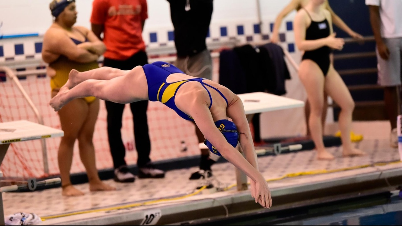 Goucher Swimming Set To Start Landmark Conference Swimming And Diving Championships Today