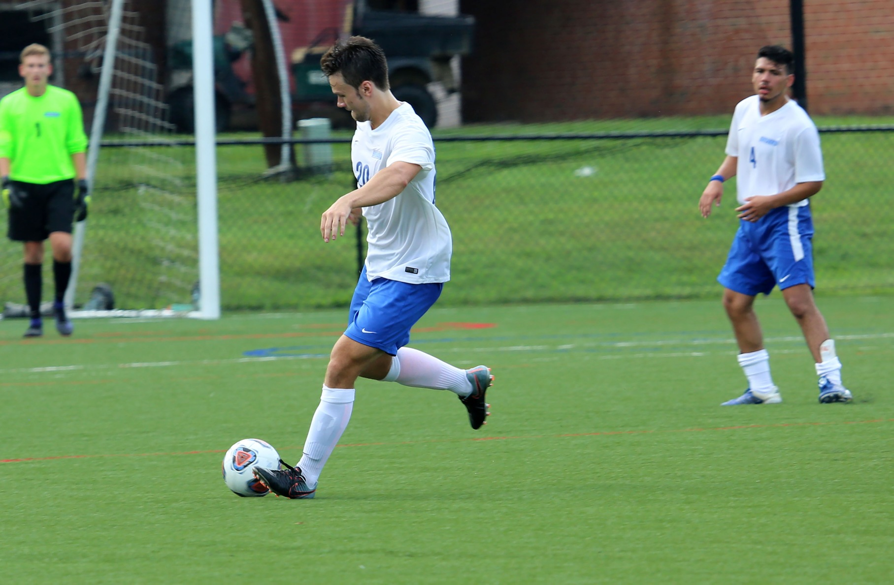 Brevard Drops Tight 2-1 Match to Methodist