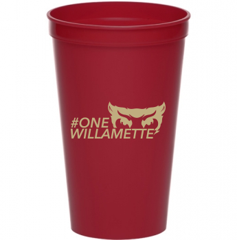 #One Willamette 22 oz. Stadium Cup
