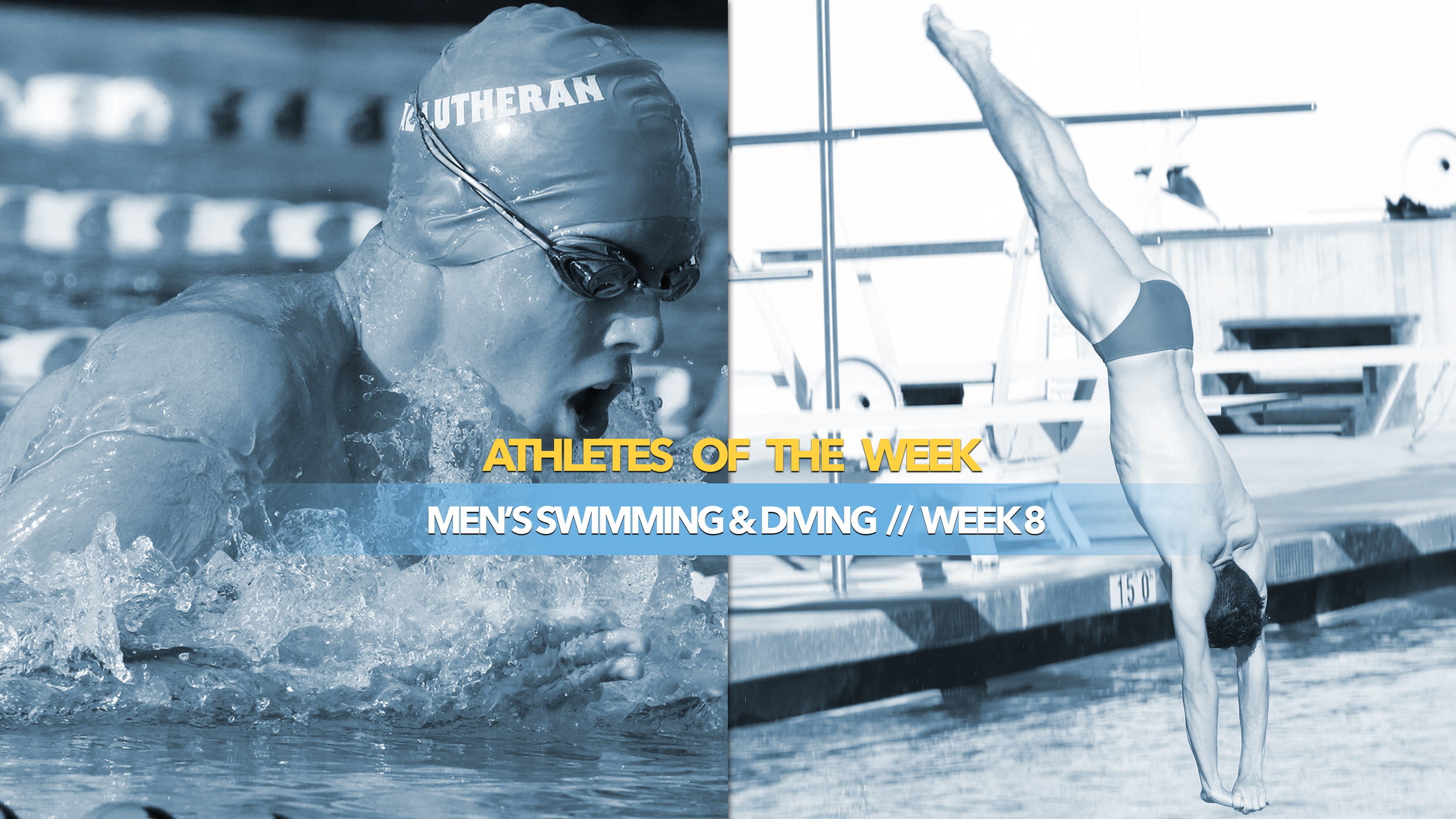 Men's Swimming & Diving Athlete of the Week: January 6, 2020