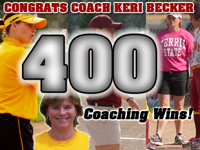 Keri Becker Records Her 400th Career Coaching Victory