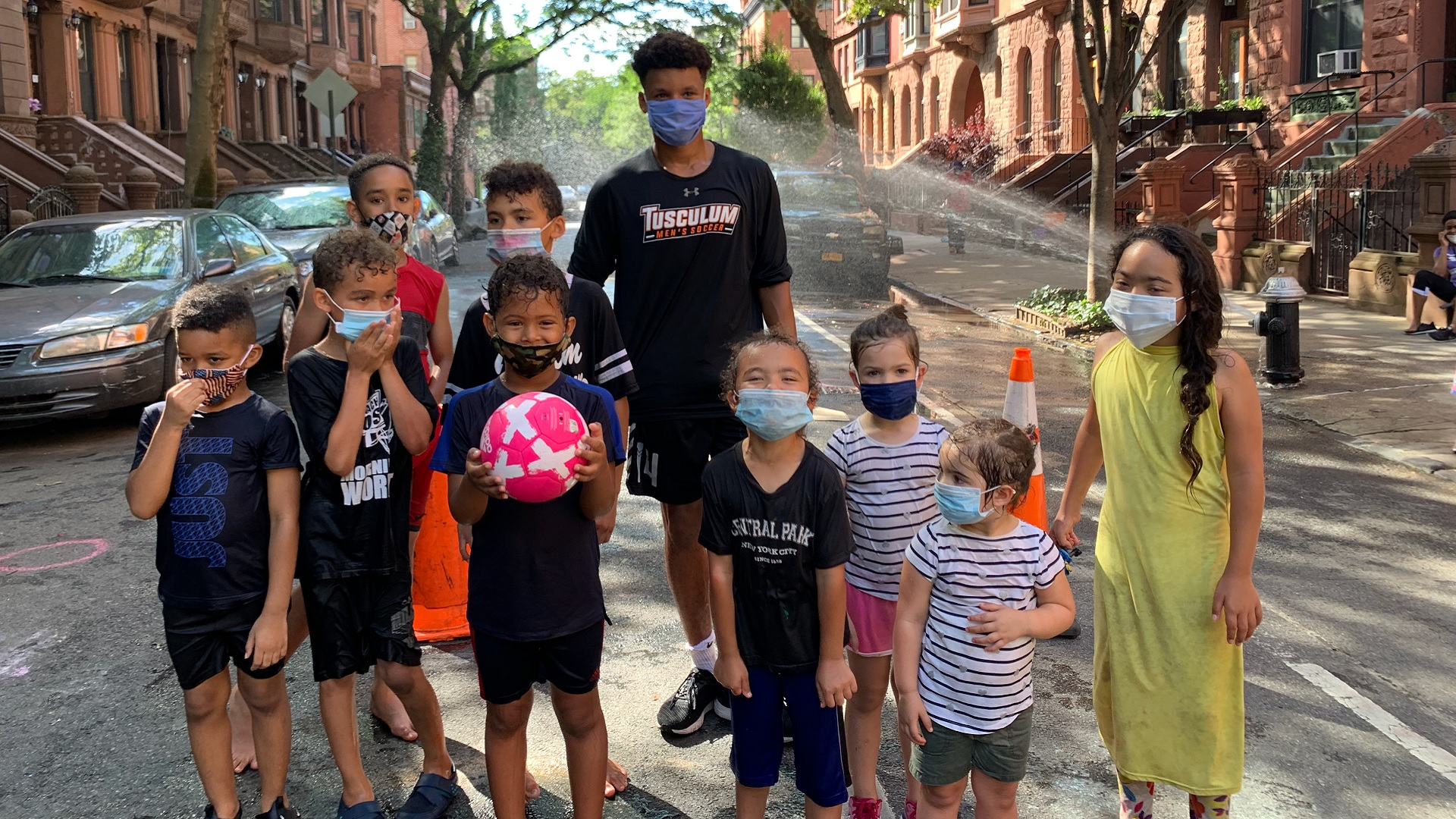 Heppard provides summer soccer training for NYC youth