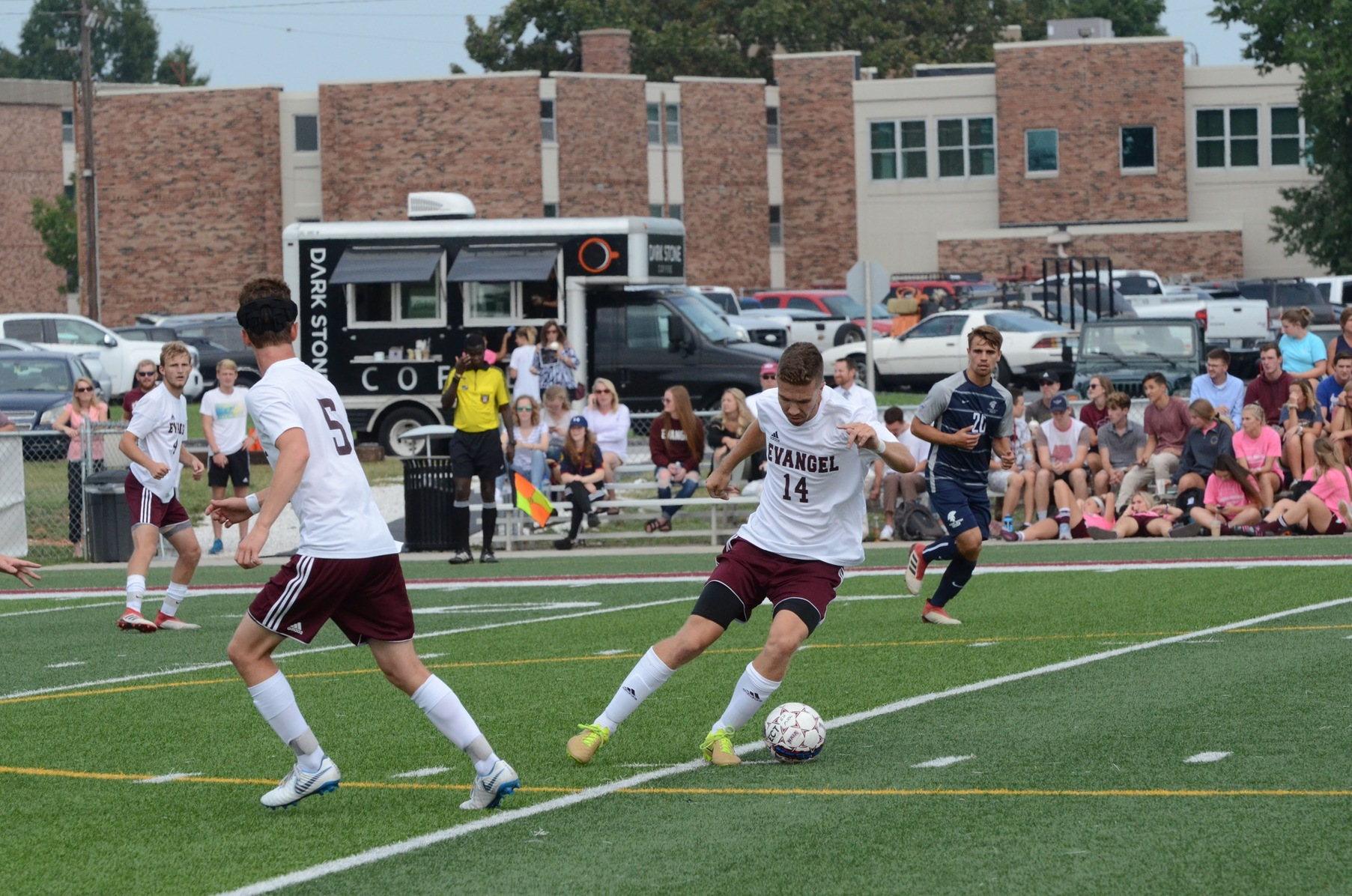 Evangel Soccer Shut Out by LSU-Alexandria